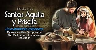 Santos Aquilies y Priscila