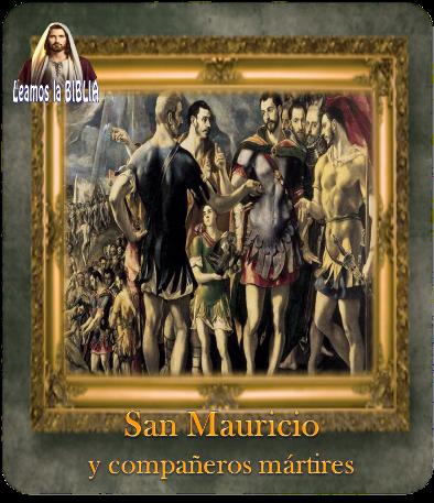 Resultado de imagen para San Mauricio y Compañeros mártires