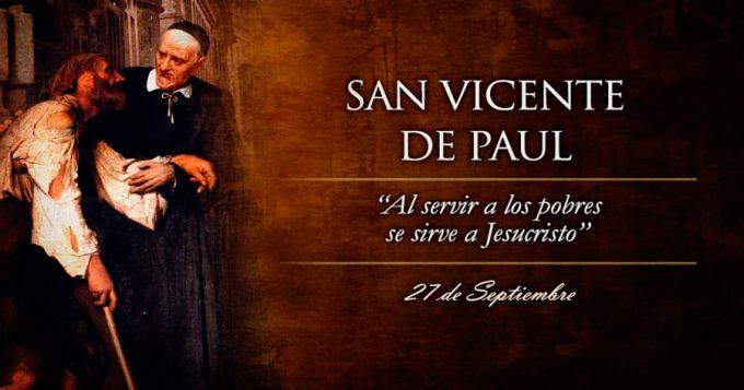 Resultado de imagen para San Vicente de Paúl