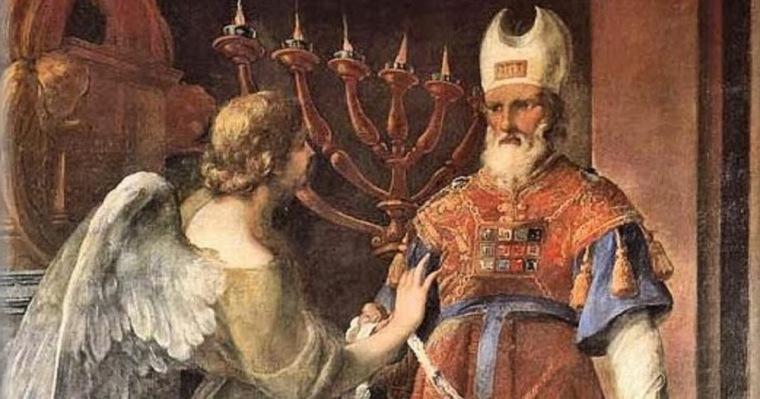 Resultado de imagen para Hubo en los días de Herodes, rey de Judea, un sacerdote, llamado Zacarías, casado con una mujer que se llamaba Isabel; los dos eran justos ante Dios. No tenían hijos, porque Isabel era estéril, y los dos de avanzada edad.