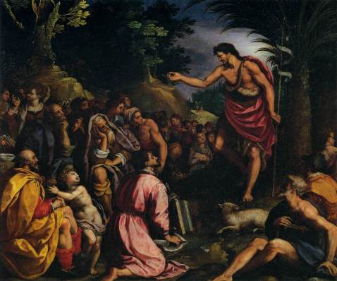 Resultado de imagen para Hubo un hombre, enviado por Dios: se llamaba Juan. Éste vino para un testimonio, para dar testimonio de la luz, para que todos creyeran por Él.