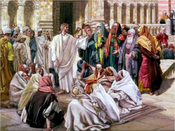 Resultado de imagen para Texto del Evangelio (Mc 1,21-28): En aquel tiempo, Jesús y sus discípulos llegaron a Cafarnaúm. Al llegar el sábado entró en la sinagoga y se puso a enseñar. Y quedaban asombrados de su doctrina, porque les enseñaba como quien tiene autoridad, y no como lo