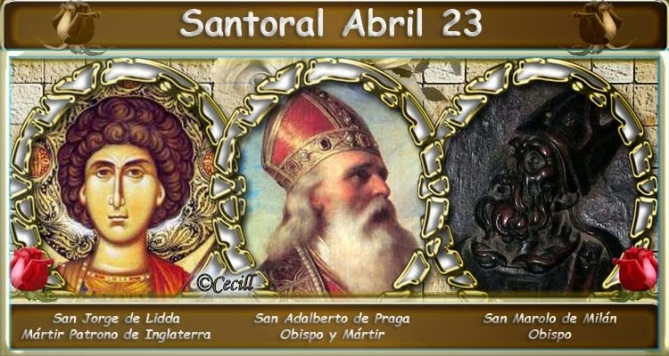 Resultado de imagen para San Jorge y San adalberto de Praga