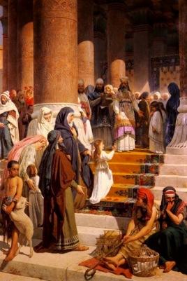 Resultado de imagen para La Presentación de la Santísima Virgen María en el Templo