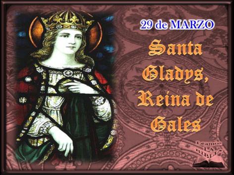 Resultado de imagen para santa gladys reina de gales