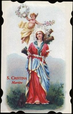 Resultado de imagen para santa cristina