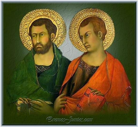 Resultado de imagen para Judas Tadeo y Simón, Apóstoles